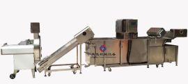 净菜生产加工线、食品加工生产线、  洗菜机、台湾切菜机