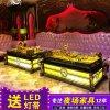 廣州廠家會所包房茶几KTV發光不鏽鋼玻璃夜總會酒吧