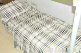 贵州学生床上用品 学生宿舍被罩床单枕套全棉