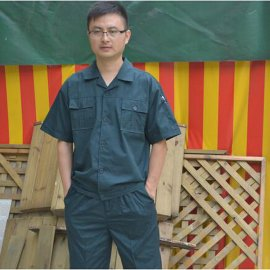 上海红万夏季工衣汽修服定做 加工