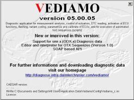奔驰Vediamo超级工程师诊断系统软件安装