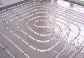 成都安裝慶東壁掛爐(納碧安)24KW地暖成都安裝地暖暖氣片