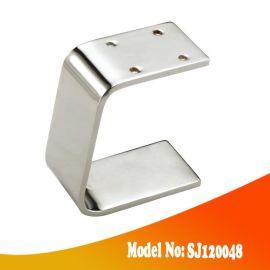 万丰五金 SJ120048 金属沙发脚,电镀铬沙发底座