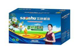 供应中国涂料十大品牌三色树漆 茶籽油清味健康木器漆