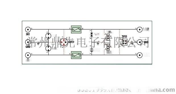 RS485,M-BUS总线防雷