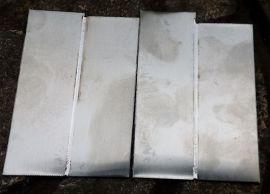 三合不锈钢薄板焊接冷焊机不变形,台面广告字等