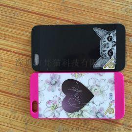 新款iPhone6/6s手机壳硅胶挂绳苹果6plus亚克力镜面5.5软胶壳女款