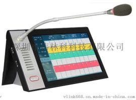 IP网络可视对讲系统广播对讲寻呼管理主机SV-610A