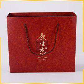 厂家直销手提袋 彩色包装袋 通用牛皮纸袋 **类购物袋茶叶礼品袋