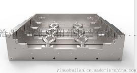 机床护板厂家,机床精密钢板防护罩,伸缩钢板防护罩