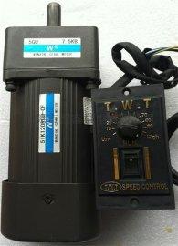 140W可调速可减速可刹车电机