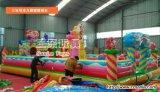 10*8米充气城堡厂家直销,河北沧州儿童充气滑梯