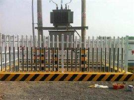 PVC变压器围栏 塑钢变压器围栏 玻璃钢护栏