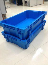 西诺折叠周转箱斜插箱子收纳箱塑料注塑模具