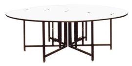 酒店会议桌(BT-011),IBM桌,长方桌,PVC餐桌