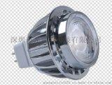 LED GU10射灯5W足瓦数 高亮 压铸铝COB射灯宽电压可调光