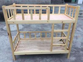 成都员工宿舍床单人床耐用实木床厂家