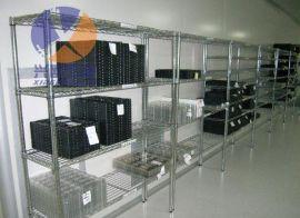 梅州防静电置物架产品供应 梅州线网置物架批发