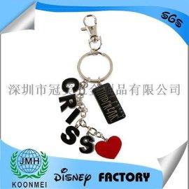 烤漆滴胶钥匙扣钥匙圈珐琅钥匙扣钥匙圈汽车钥匙扣定制定做