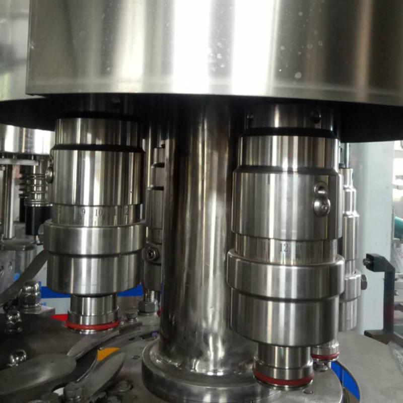 饮料生产设备 玻璃瓶啤酒全自动灌装机 三合一啤酒灌装生产线