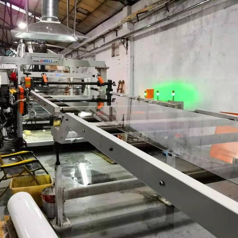 金韋爾PC單層、多層複合板材生產線
