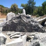 大量批发景观石组 雪浪石切片摆件 泰山石 天然景观石  自然石