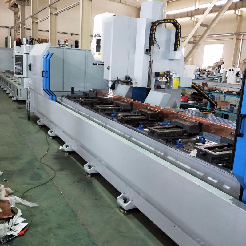 铝型材三轴轴数控加工中心有色金属加工设备