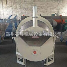 全自动商用不锈钢板栗炒货机 电加热瓜子炒锅机 菜籽炒籽机设备