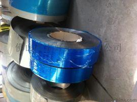 供应409不锈钢拉伸材料|单面覆膜精密分条
