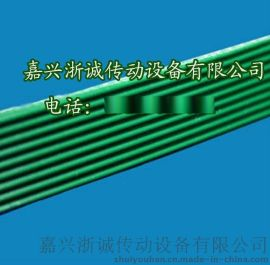 绿色直条纹pvc输送带