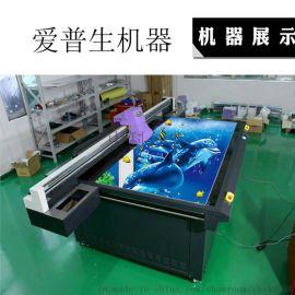 3D瓷磚電視背景牆uv平板列印 藝術個性玻璃彩印uv平板印表機