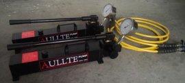 手动泵+超高压软管+压力表+快速接头+过渡接头