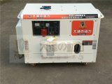 10KW静音柴油发电机.可供广播车使用