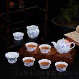 新款景德鎮手繪青花瓷茶具套裝