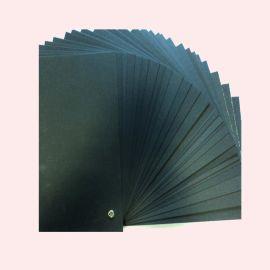 黑卡纸400克 电声专用黑卡纸 品质稳定