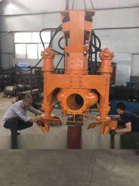 山东江淮JHW清淤泵80吨挖掘机池塘泥浆泵泵体形状图