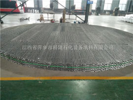 DN7200直径2507材质孔板波纹填料海水淡化