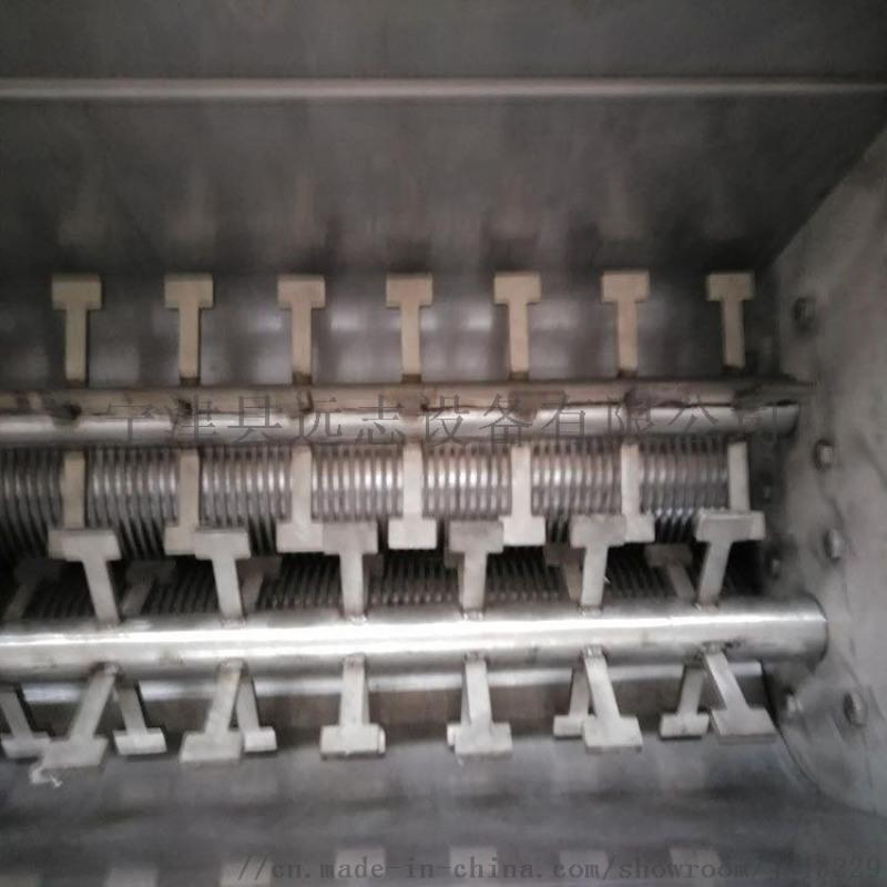 山东厂家污泥低温干化挤条机对辊挤压成型泥水分离机