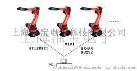定制电脑控制多机械手臂机器人集群同步控制系统