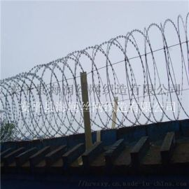 小区工厂围墙围栏防爬刺网刀片刺绳刺丝滚笼
