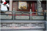 花岗岩石雕栏杆 寺庙青石护栏 莲花栏杆栏板雕刻