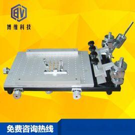 博维科技 BV-3040A 手动高精密小型锡膏印刷机 桌面式手印台丝印机 SMT贴片机生产线