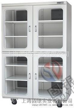 固銀防潮箱 電子防潮櫃 安全除溼1436L四門電子防潮箱