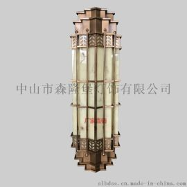 特色酒店壁灯各种复杂壁灯设计户外烤漆工艺防水不锈钢坚固耐用10年不生锈