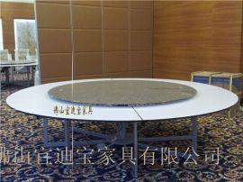 2.8米电动转盘餐桌电动餐桌机芯圆桌