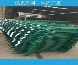 学校工艺护栏 厂区园区铁艺护栏栅栏锌钢护栏厂家