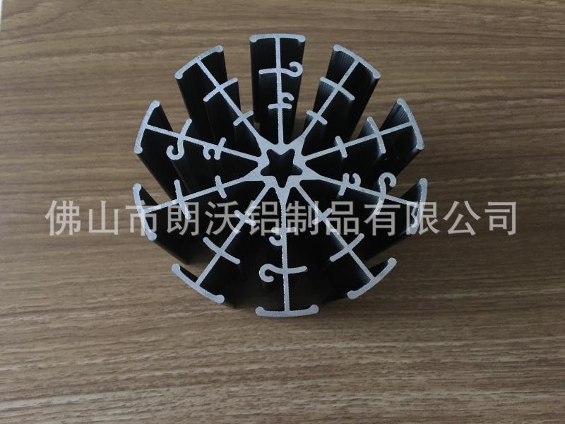 生產加LED燈具鋁型材, 拉伸鋁型材