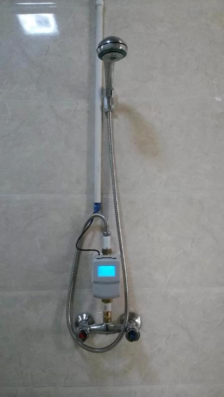 供应河北沧州洗澡刷卡水控