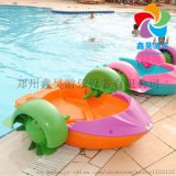 夏季水上手摇船 亲子互动水上游艺设备 大型充气水池