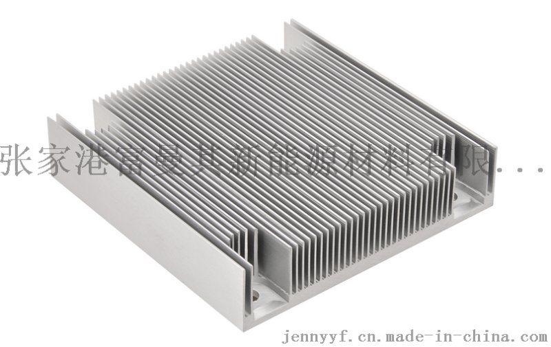 开模加工异型工业散热器铝型材